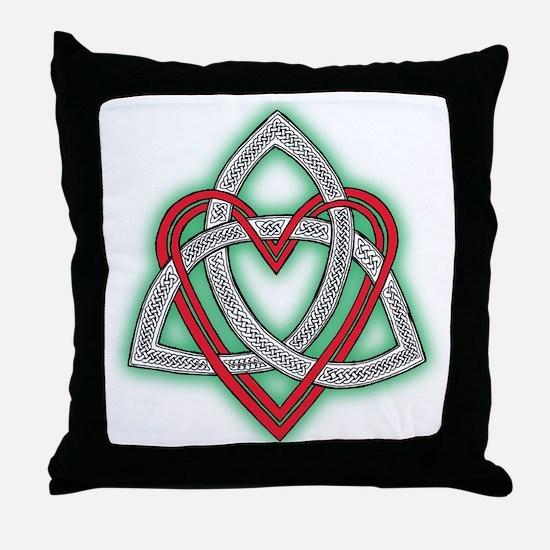 Heart of God Throw Pillow