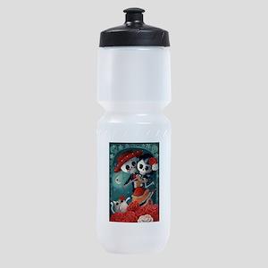 Dia de Los Muertos Mexican Lovers Sports Bottle