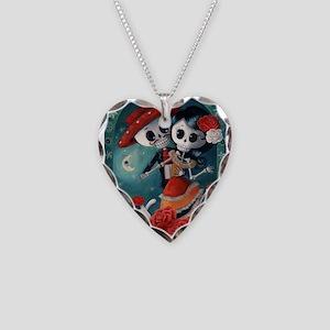 Dia de Los Muertos Mexican Lovers Necklace