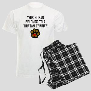This Human Belongs To A Tibetan Terrier Pajamas