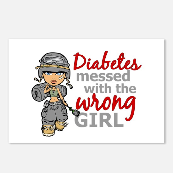 Combat Girl Diabetes Postcards (Package of 8)