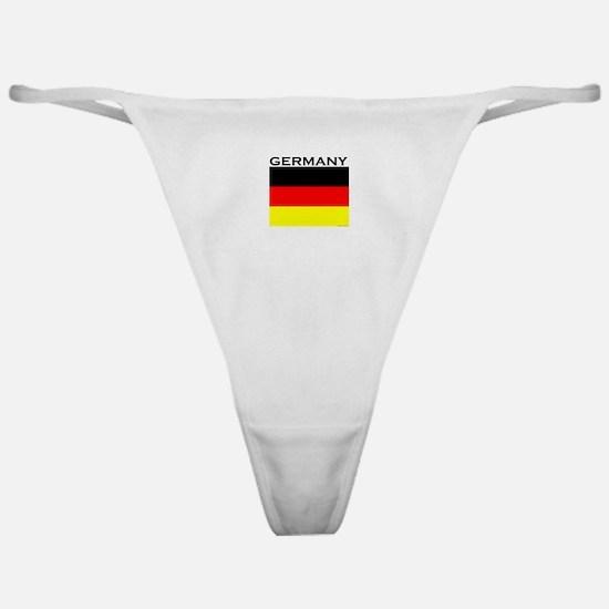 Germany Flag Classic Thong