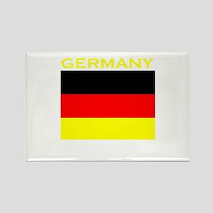 Germany Flag (Dark) Rectangle Magnet