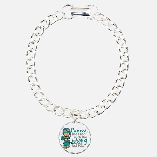 Combat Girl Ovarian Canc Bracelet