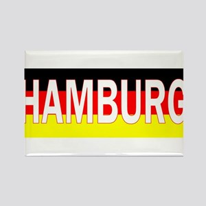 Hamburg, Germany Rectangle Magnet