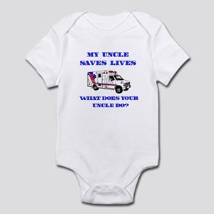 Ambulance Saves Lives-Uncle Infant Bodysuit