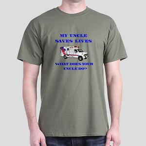 Ambulance Saves Lives-Uncle Dark T-Shirt