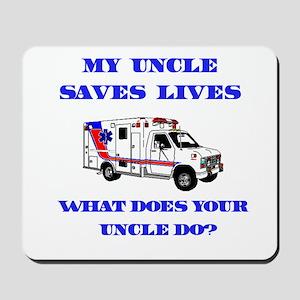 Ambulance Saves Lives-Uncle Mousepad