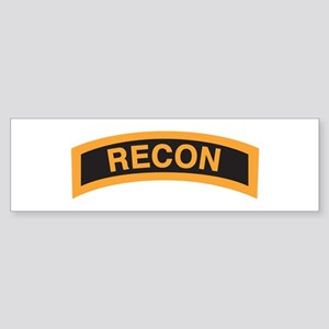 Recon Tab Bumper Sticker