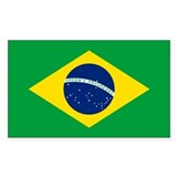 Brazilian flag Single
