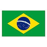 Brazilian flag Single