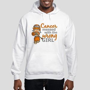 Combat Girl Kidney Cancer Hooded Sweatshirt