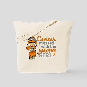 Combat Girl Kidney Cancer Tote Bag