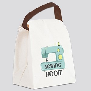 Sewing Room Canvas Lunch Bag