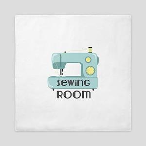 Sewing Room Queen Duvet