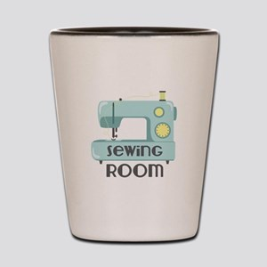 Sewing Room Shot Glass