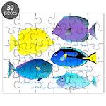 5 Unicornfish Surgeonfish Puzzle