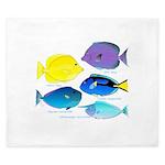5 Unicornfish Surgeonfish King Duvet