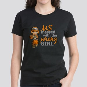 Combat Girl MS Women's Dark T-Shirt