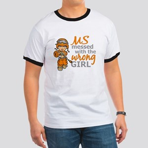 Combat Girl MS Ringer T