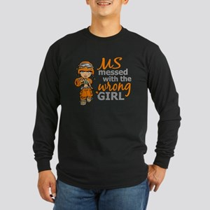 Combat Girl MS Long Sleeve Dark T-Shirt
