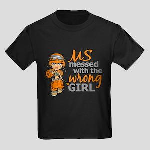 Combat Girl MS Kids Dark T-Shirt