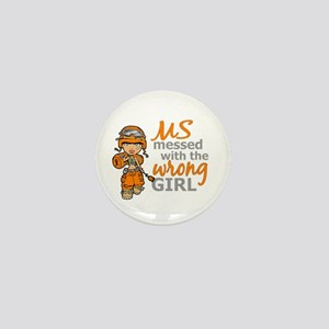 Combat Girl MS Mini Button