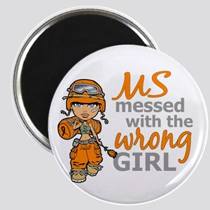 Combat Girl MS Magnet