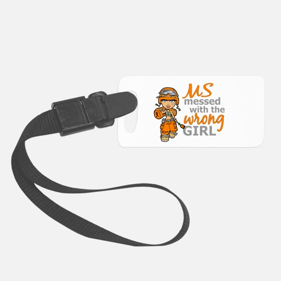 Combat Girl MS Luggage Tag