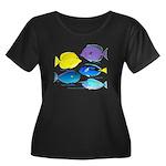 5 Unicornfish Surgeonfish c Plus Size T-Shirt