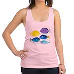 5 Unicornfish Surgeonfish c Racerback Tank Top