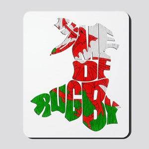 Wales Home Of Rugby Mousepad