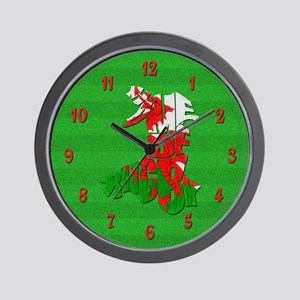 Wales Home Of Rugby Wall Clock