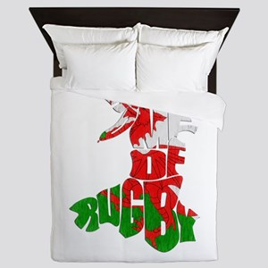 Wales Home Of Rugby Queen Duvet