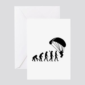 Evolution Skydiving Greeting Card