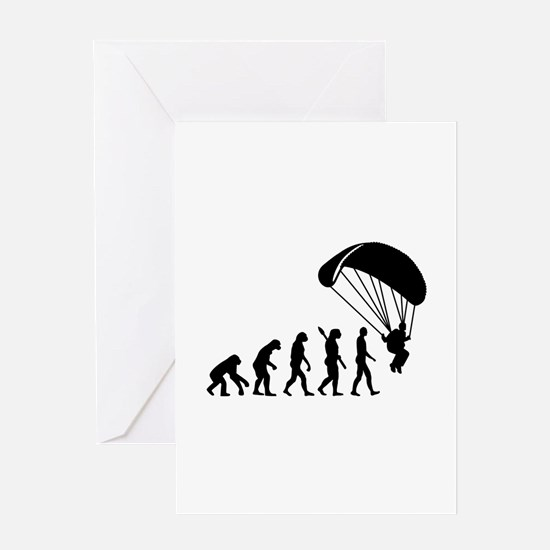 Evolution Skydiving Greeting Card