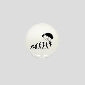 Evolution Skydiving Mini Button