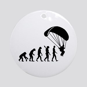 Evolution Skydiving Ornament (Round)