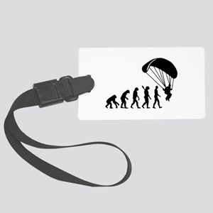 Evolution Skydiving Large Luggage Tag