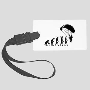 Evolution Skydiving Large Luggage Tag