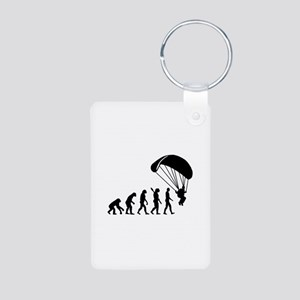 Evolution Skydiving Aluminum Photo Keychain