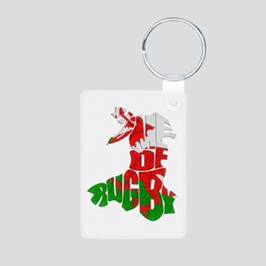 Wales Home Of Rugby Keychains
