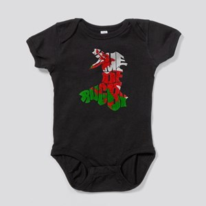 Wales Home Of Rugby Baby Bodysuit