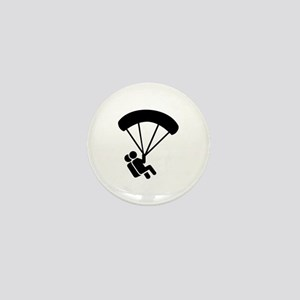 Skydiving tandem Mini Button