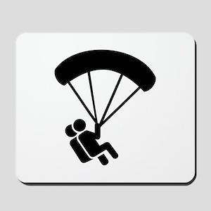 Skydiving tandem Mousepad