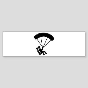 Skydiving tandem Sticker (Bumper)