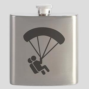 Skydiving tandem Flask