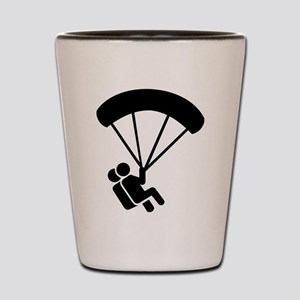 Skydiving tandem Shot Glass