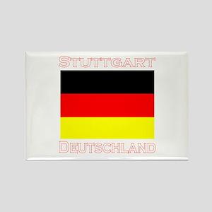 Stuttgart, Deutschland Rectangle Magnet