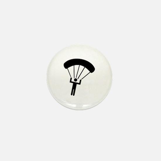 Skydiving icon Mini Button